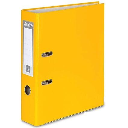 con borde de metal lotes de 1 5/o 10/unidades 75 mm de grosor para el colegio o la oficina color 1 x Cocoa Carpetas archivadoras tipo palanca en arco tama/ño A4 portadas de papel