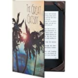 "Great Gatsby Kindle Case Classic Book Cover Range for 6"" eReader inc Paperwhite and Touch Screen"