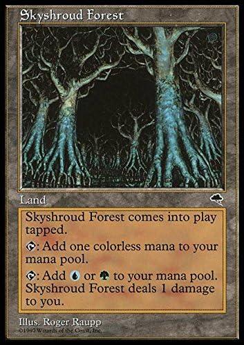 Tempest MTG Skyshroud Forest