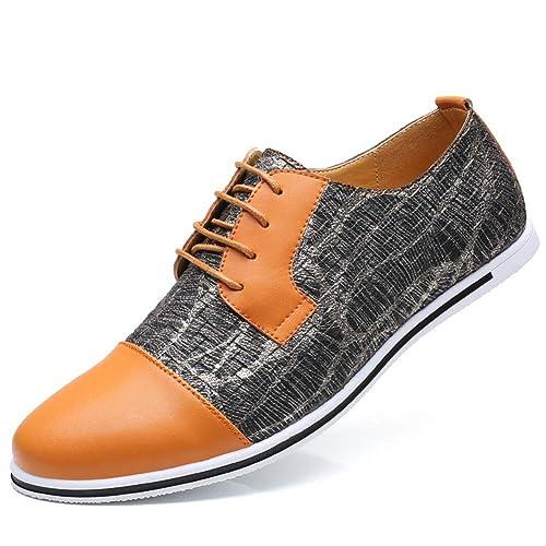 Zapatillas urbanas de Mocasines para Hombre de Primavera y otoño con Zapatos de Senderismo Ligeros y Ligeros de Daping.: Amazon.es: Zapatos y complementos