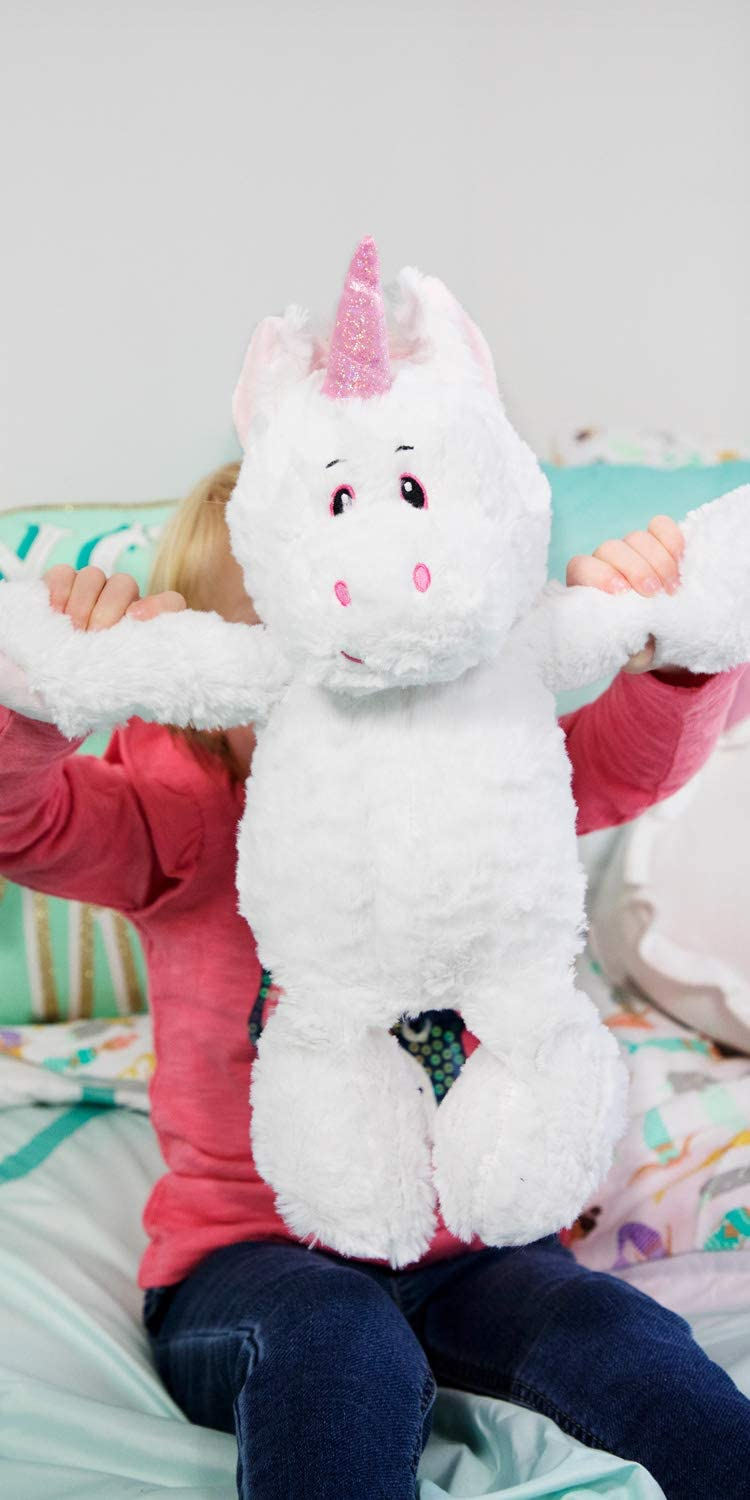 The Petting Zoo 14 inches Pink Horn Unicorn Gifts for Girls Baby Toddlers Snugglerz Unicorn Stuffed Animal Plush Toy