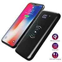 Amazon.com deals on Dodocool Wireless Charger Power Bank 10000mAh w/LED Display