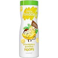 Little Freddie Pineapple & Banana Hoops, 42 g