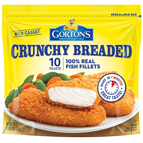 Gorton's, Crunchy Breaded Fish Fillets, 19 oz ()