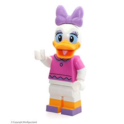 LEGO Disney Exclusive MiniFigure - Daisy Duck (Dark Pink Top) From Disney Castle 71040: Toys & Games