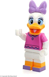 LEGO Disney Exclusive MiniFigure - Daisy Duck (Dark Pink Top) From Disney Castle 71040