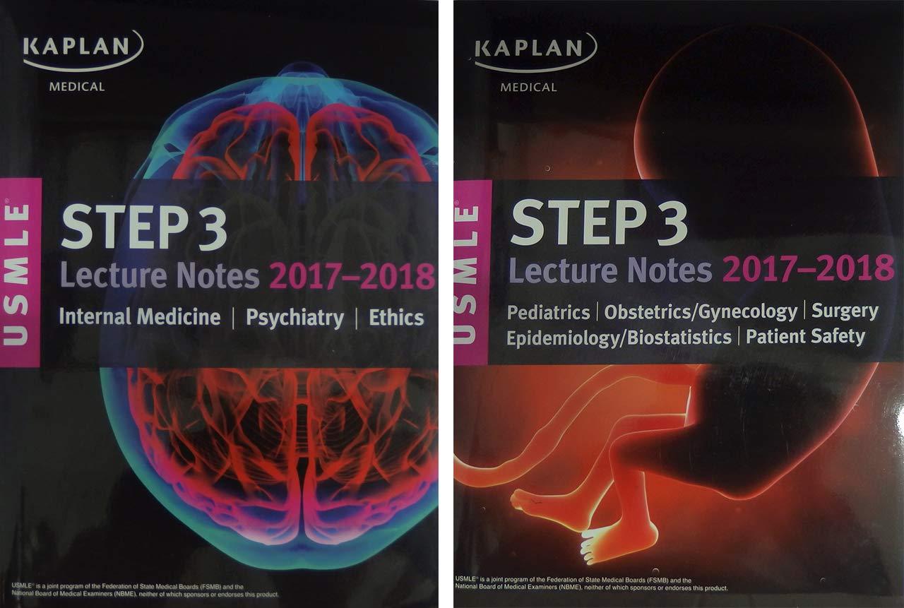 Buy USMLE Step 3 Lecture Notes 2017-2018: 2-Book Set (USMLE Prep