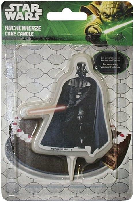 2D DEKOBACK 01-14-00739 Kuchenkerze Star Wars Darth Vader