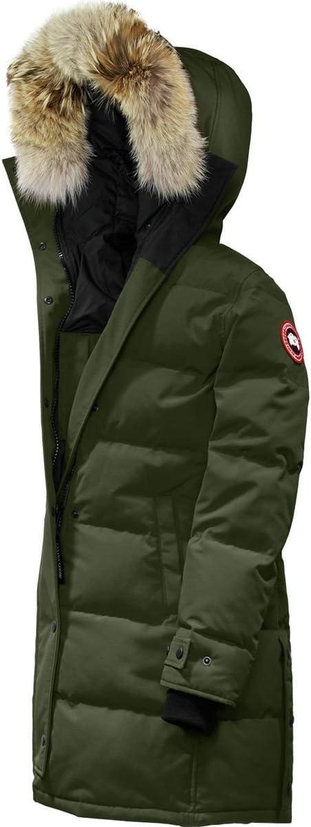 (カナダグース)Canada Goose Shelburne Down Parka レディース ジャケットMilitary 緑 [並行輸入品] Military 緑 日本サイズ LL相当 (US L)