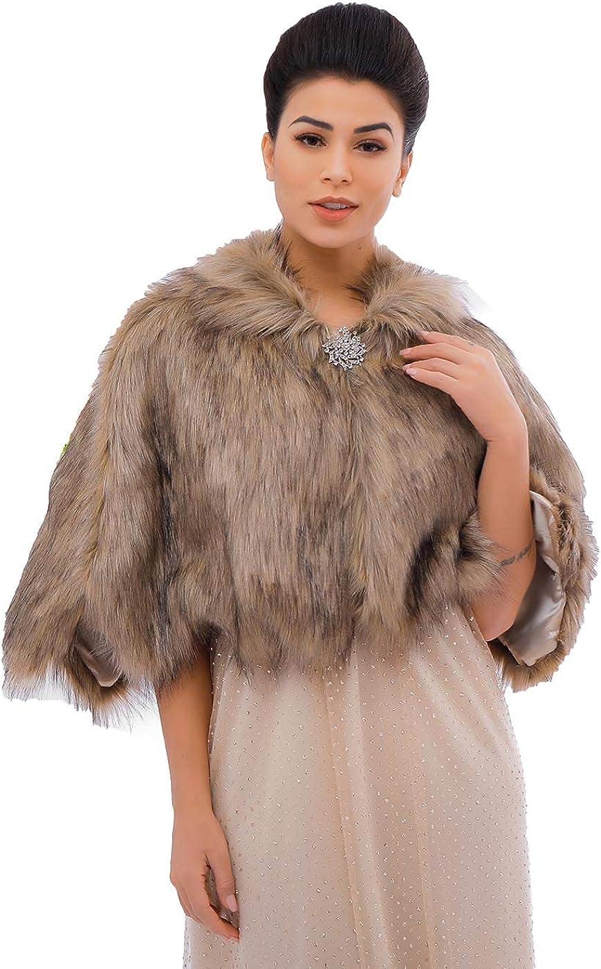 Campsis Women's Wedding Fur...
