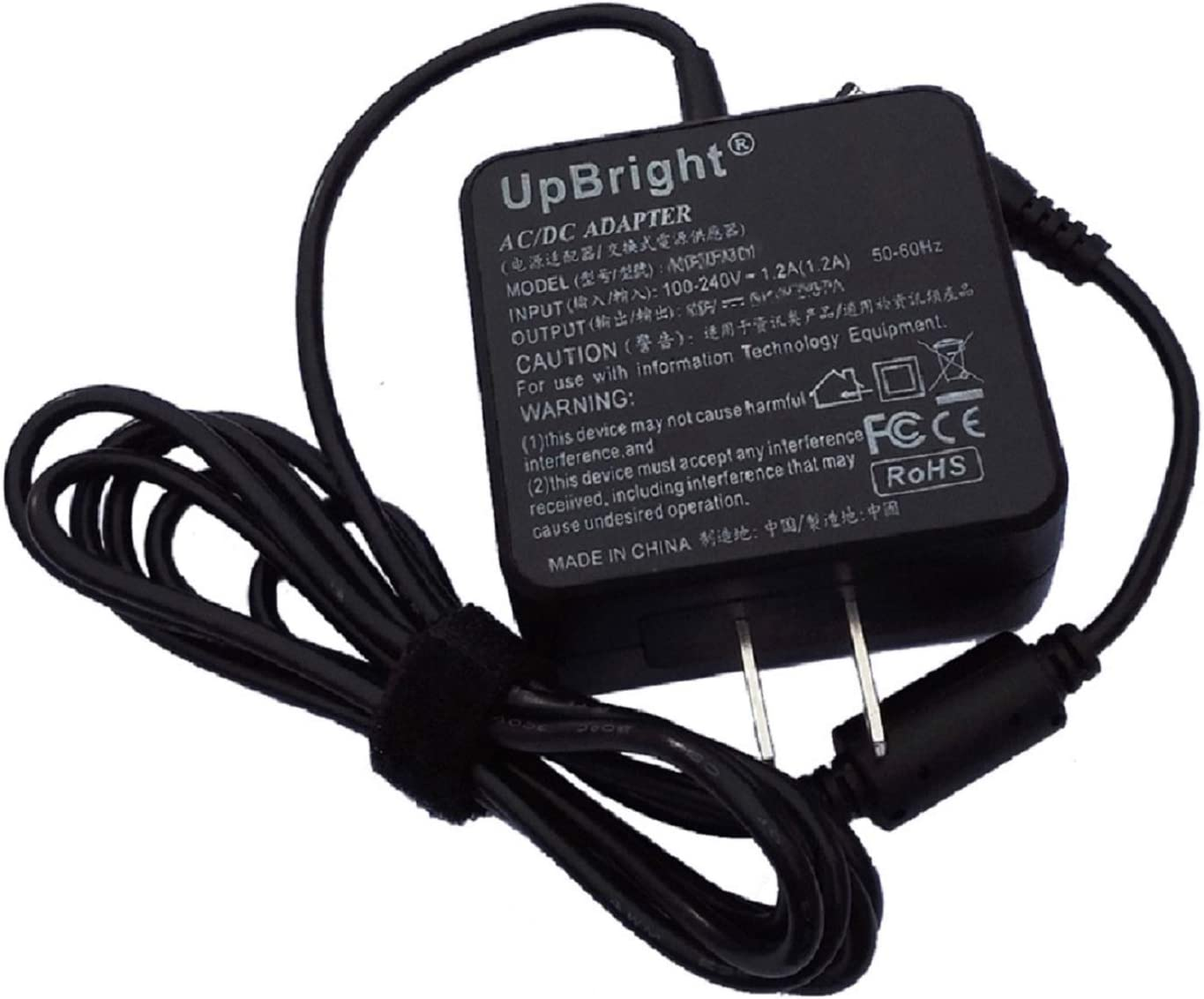 UpBright New 19V 2.15A 40W A/DC Adapter Compatible with Acer Aspire V5-131 Model Q1VZC C7 Chromebook C710-2615 Laptop Notebook PC 19VDC 2.15Amp Power Supply Cord Cable PS Battery Charger Mains PSU