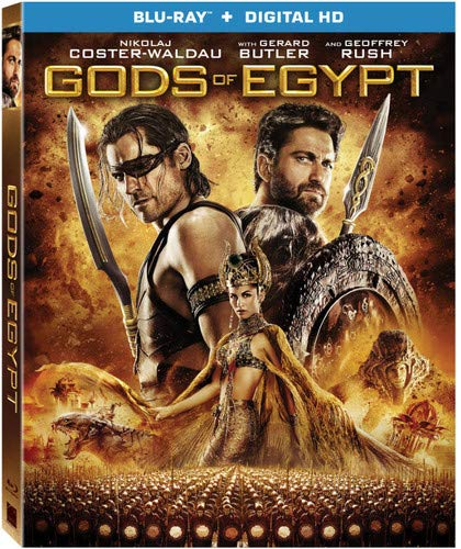 Gods Of Egypt [Bluray + Digital HD] [Blu-ray] (Five Dollar Magazines)