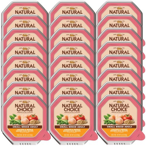 Nutro Natural Choice Small Breed Chicken Whole Brown Rice Adult Dog (24x3.5oz)