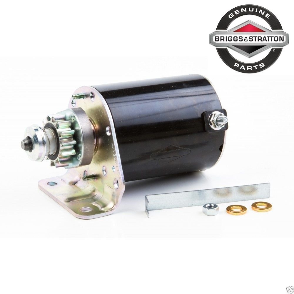 Briggs And Stratton 593934 Electric Starter Motor Engine Parts Model Garden Outdoor