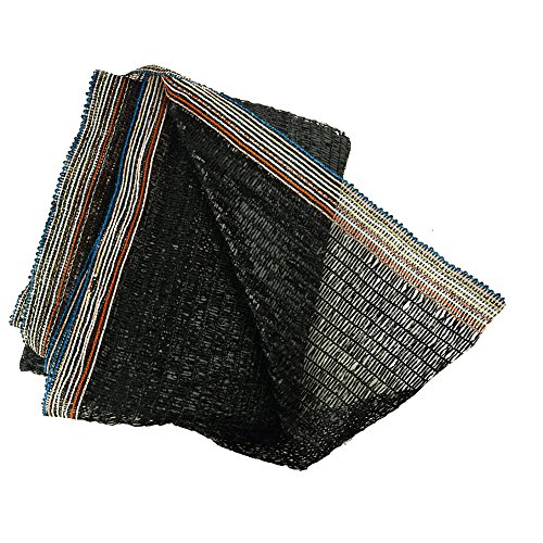40% Black 6.5'x10' Sun Mesh Shade Sunblock Shade Cloth UV Resistant Net For Garden Flower Plant - Purpose Pet Cloth