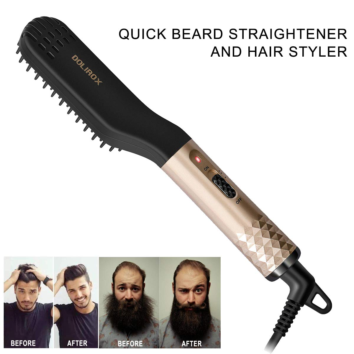 Wow! Just the item I needed!! Beard looks amazing!