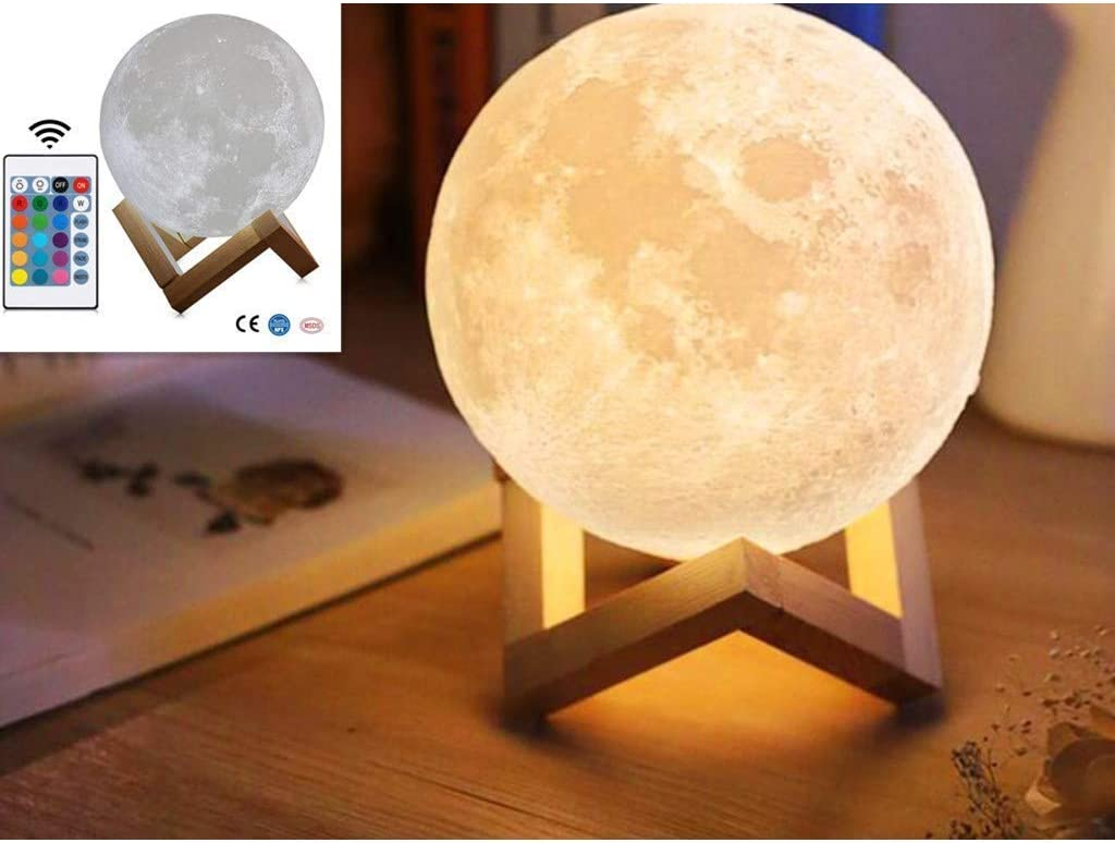 Moon and planet lamps will make you