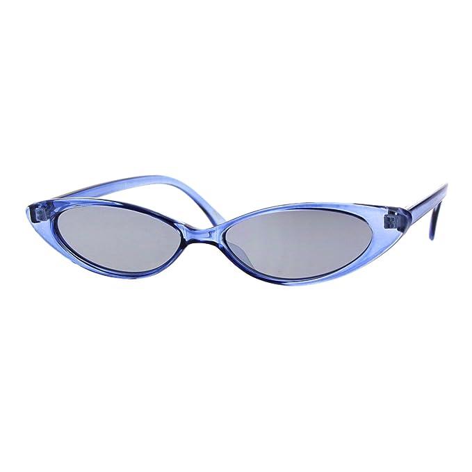 Amazon.com: Gafas de sol para mujer con marco ovalado y ...