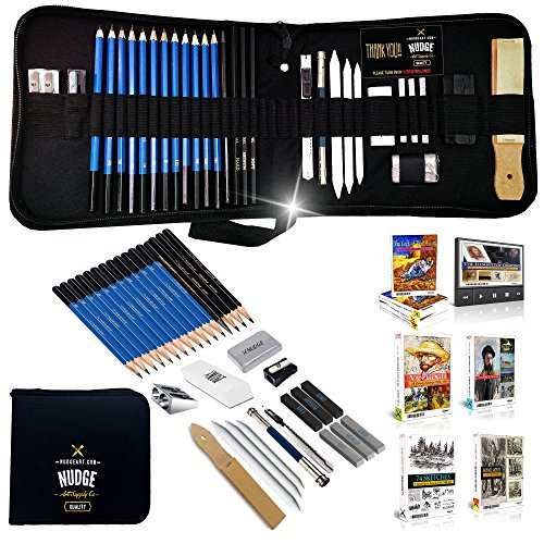 NUDGE Da Vinci 33 Piece Sketch & Drawing