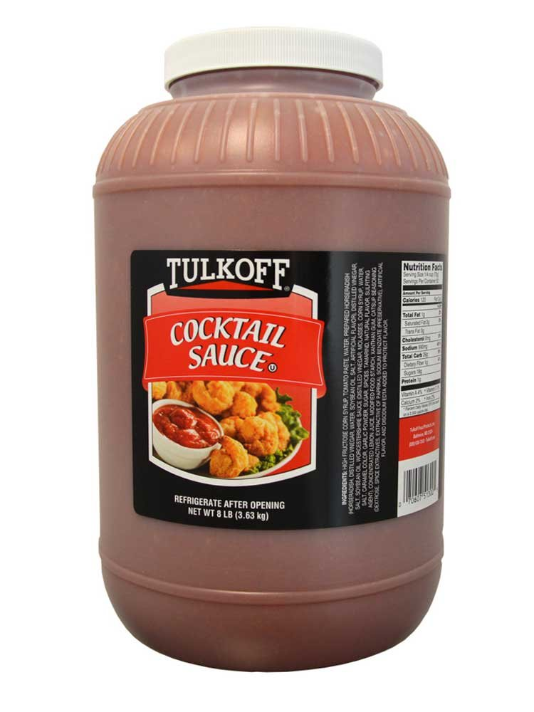 Tulkoff Cocktail Sauce, 128 Ounce -- 4 per case. by Tulkoff