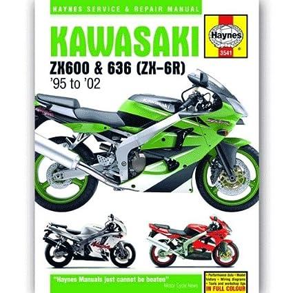 Kawasaki Ninja ZX-6R ZX6R ZX600 ZX600 F ZX600G zx600h ZX600J ...