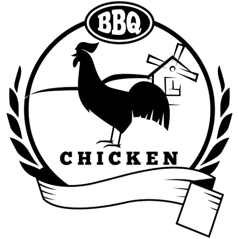 Amazon Bbq Chicken Food Packaging Stamp Office Products