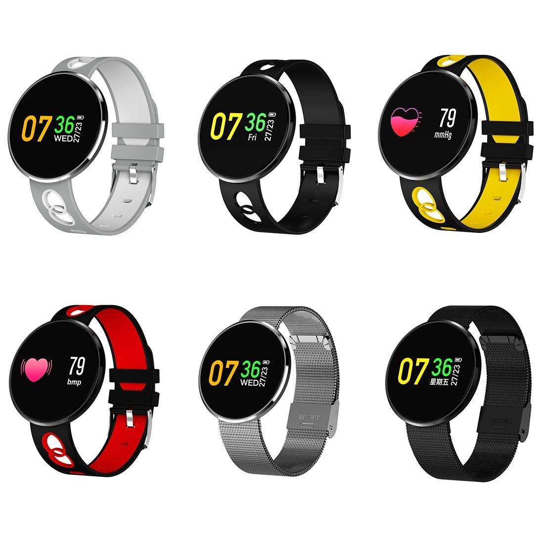 MRLIFY Smartwatch CF006H, Reloj Inteligente con Bluetooth ...
