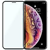iPhone XR フィルム ガラス 全面 保護フィルム 9H アイフォンxs アイフォンテンアール 強化ガラスフィルム (A)