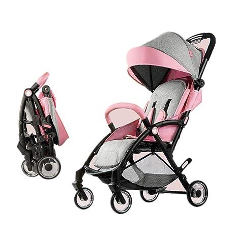 Sillas de paseo, carro de bebé plegable portátil portátil ...