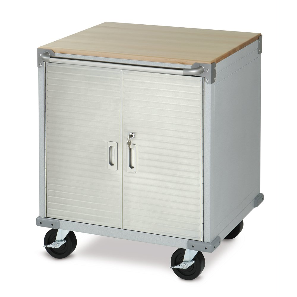 UltraHD Rolling Storage Cabinet by Seville Classics (Image #1)