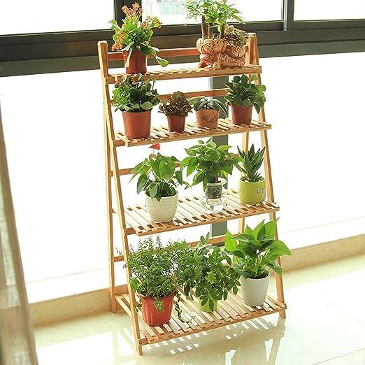Estante de almacenamiento de plantas Estante de flores Estante de ...