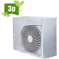 HOMEWINS Housse de Protection pour Climatiseur Éxterieur Imperméable Anti-poussière Anti-Snow Anti-Solaire - 92 * 35 * 69CM