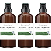 3X 500ml Dermalume 2 in 1 Rinse-free Surface & Hand sanitiser 80% Alcohol TGA ST