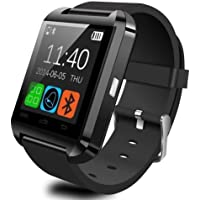 Bluetooth Smart Watch Android/IOS Wear Bracelet Band with OLED Touch Screen Fitness Activity Tracker Pedometer Sports Outdoor WristWatch Fit for Smartphones