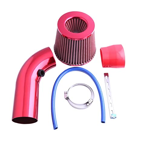 Filtro de entrada de aire de coche de manguera de tubo de aleación de aluminio de