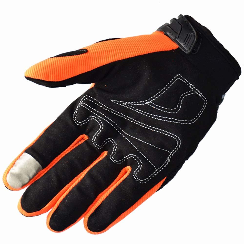 KLEDDP Schwarze Motorradhandschuhe Sommer Windundurchlässige Schutzhandschuhe Motorrad, Screen Touch Alpine Motorrad, Schutzhandschuhe Schwarz Handschuhe für Männer 7f065c