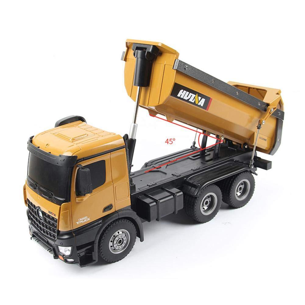 建設車両リモートコントロールカー合金のおもちゃの車RC子供のおもちゃの車RCトラック B07P61M624