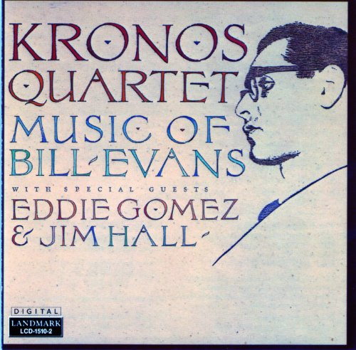 Price comparison product image KRONOS QUARTET ~ PLAYS BILL EVANS (used)