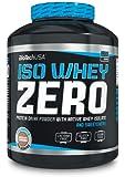 Biotech USA 10002010110 Isowhey Zero Lactose Free Protéine Saveur Vanille