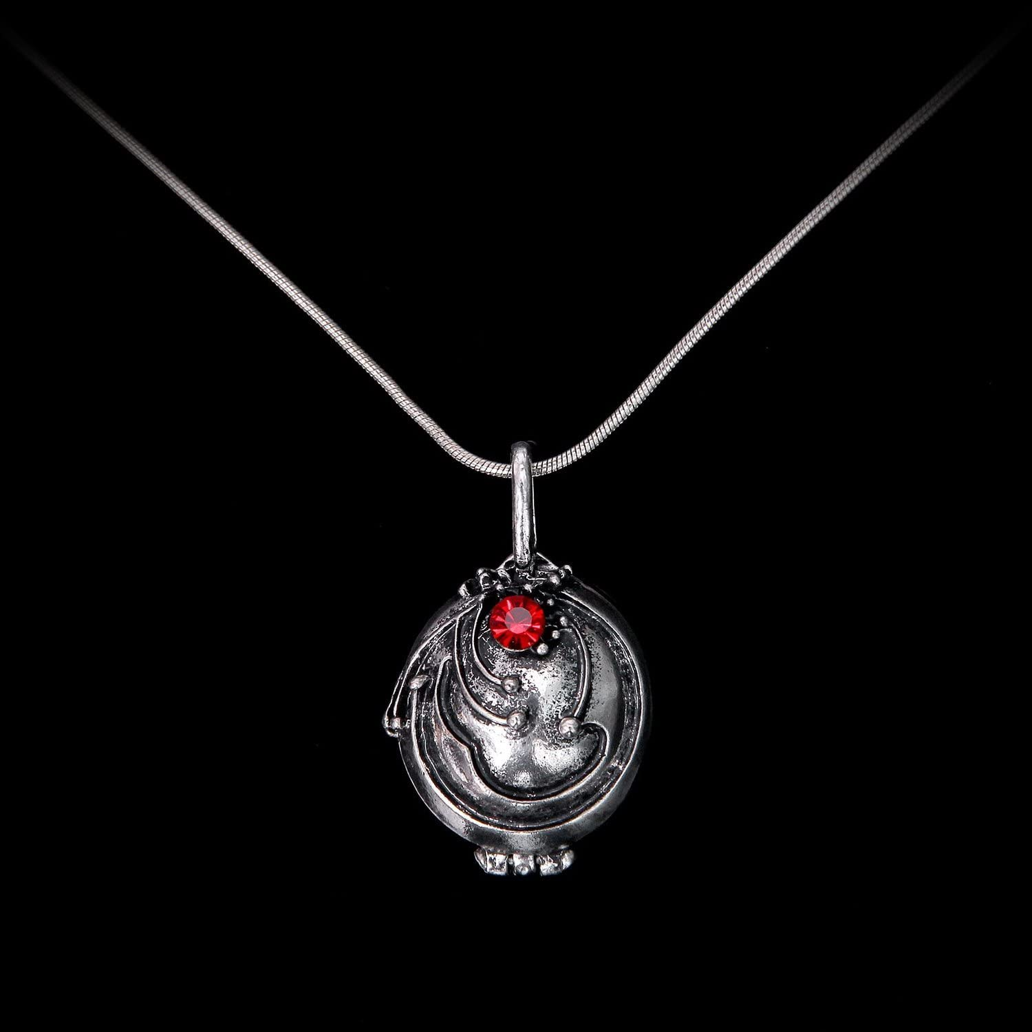 New Vampire Diaries Necklace Choker Necklace Snake Chain 22 Pendants and Stones