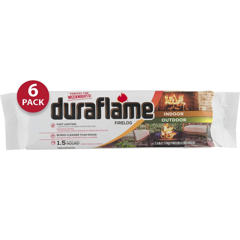 Duraflame 2.5lb 1.5-hr Firelog 6 Pack Heating, Cooling & Air ...