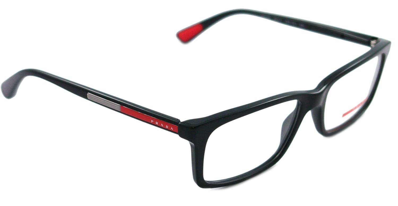 Amazon.com: Prada Sport (Linea Rossa) PS02CV Eyeglasses: Shoes