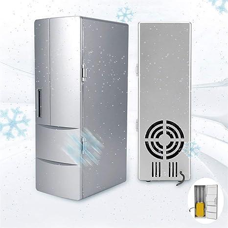 YFDZZSP 10W Mini USB refrigerador congelador latas Beber Cerveza ...