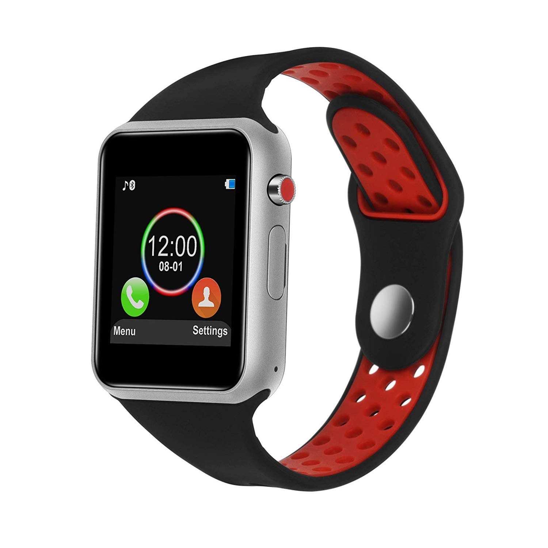 Smart Watch,SUNETLINK Touch Screen Bluetooth Smart Watch,Sport Smart Fitness Tracker Wrist Watch with Camera,Sweatproof Smart Watch with SIM TF Card Slot Compatible Samsung LG iOS Men Women Kids