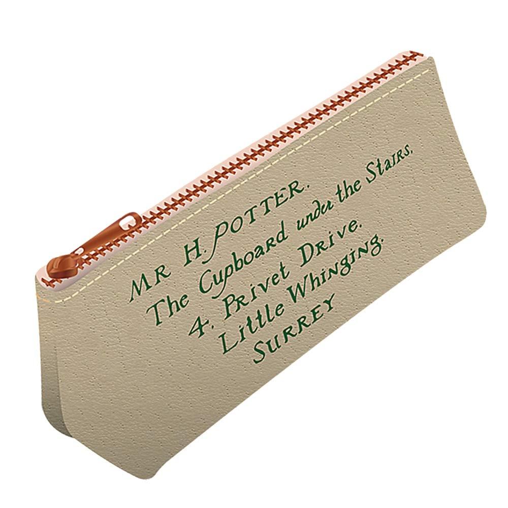 Genuine Harry Potter Letters Pencil Case Zipped Stationery Hogwarts Owl Envelope