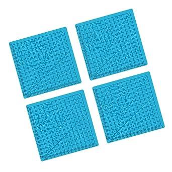 H Hilabee - Juego de 4 rotuladores 3D de silicona con 5 ...