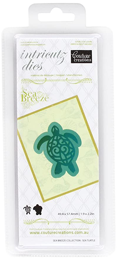 Couture Creations - Brisa del mar Intricutz Die - Tortuga de mar ...