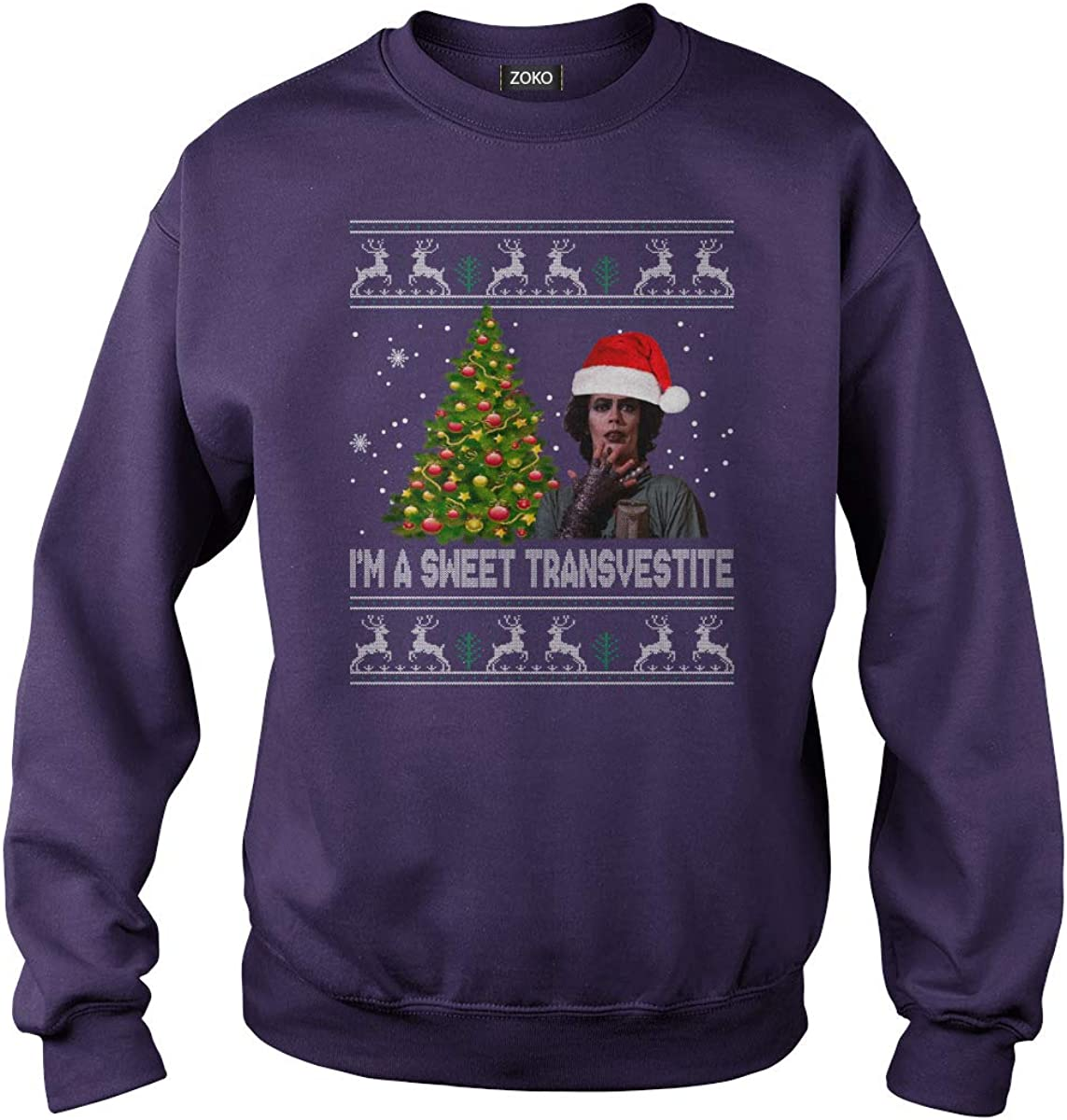 Zoko Apparel Im A Sweet Transvestite Ugly Christmas T-Shirt