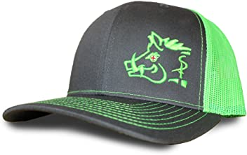 d3ffae2c501 Oil Field Hats Gray Lime Green Sniper Pig Cap - SPH805