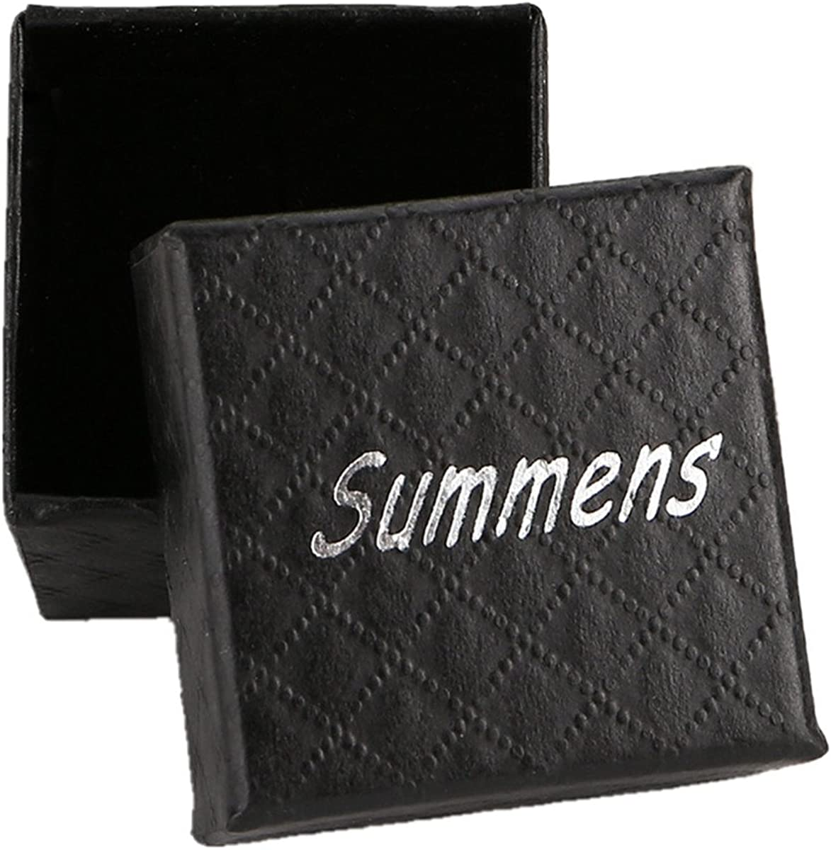 Summens Femmes Bijoux Zircon R/églable Bague Argent 925 Rings